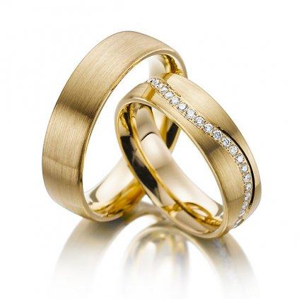Snubní prsten – model a14b