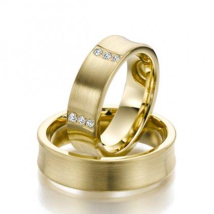 Snubní prsten – model 19