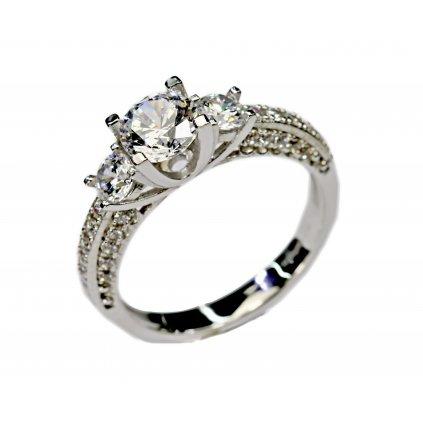 Zásnubní prsten Halo