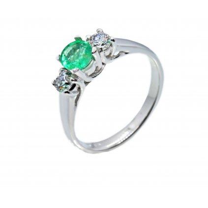 Zásnubní prsten Alegra Emerald