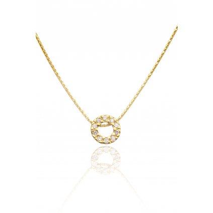 Briliantový náhrdelník Susan Yellow