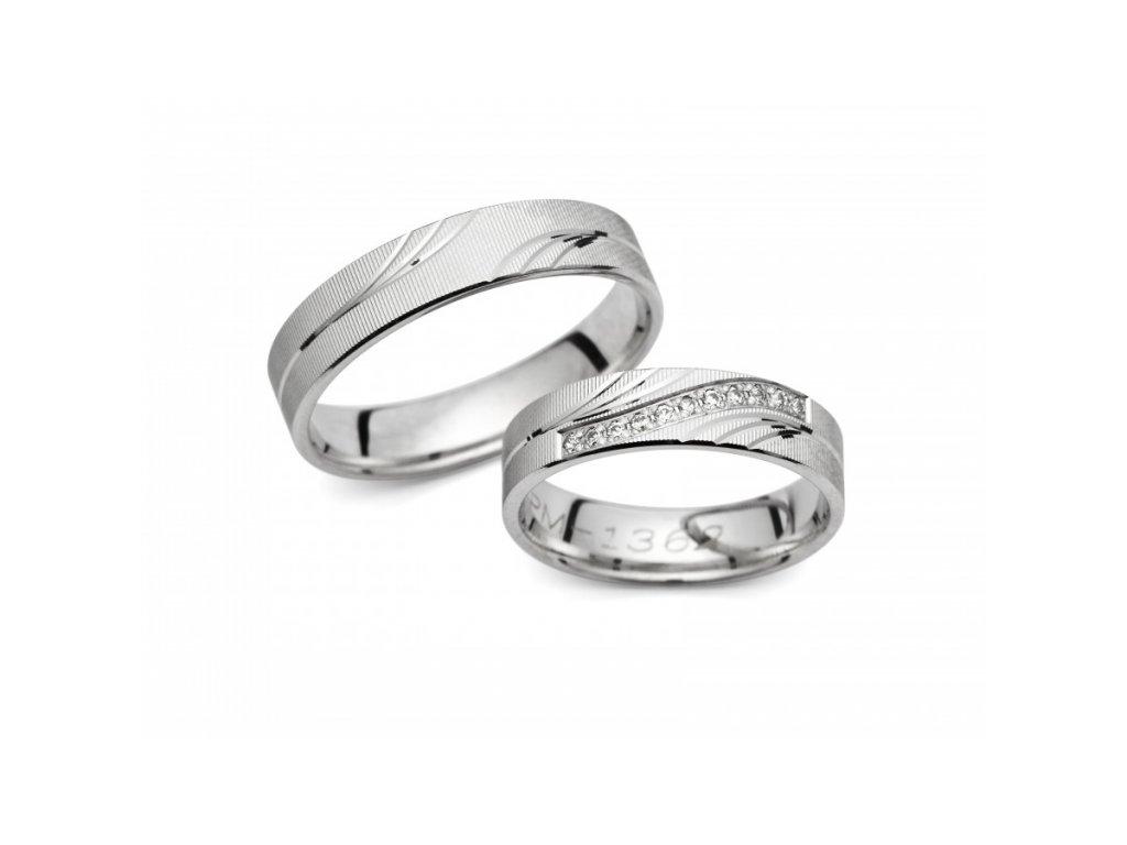 Snubní prsteny PM1362