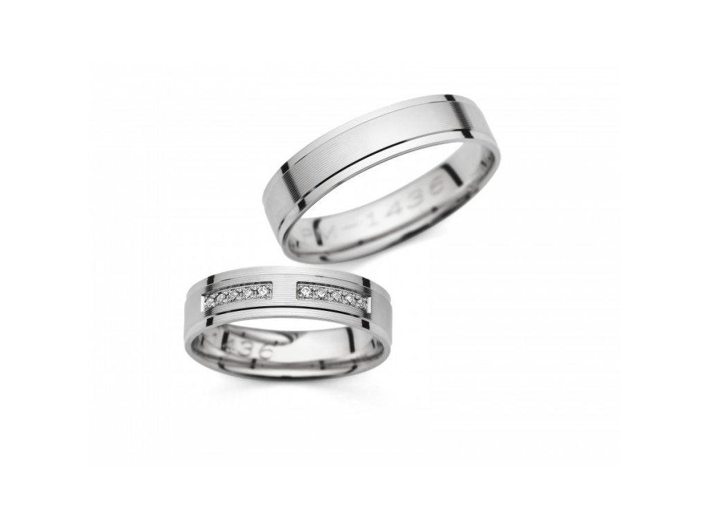 Snubní prsteny PM1436
