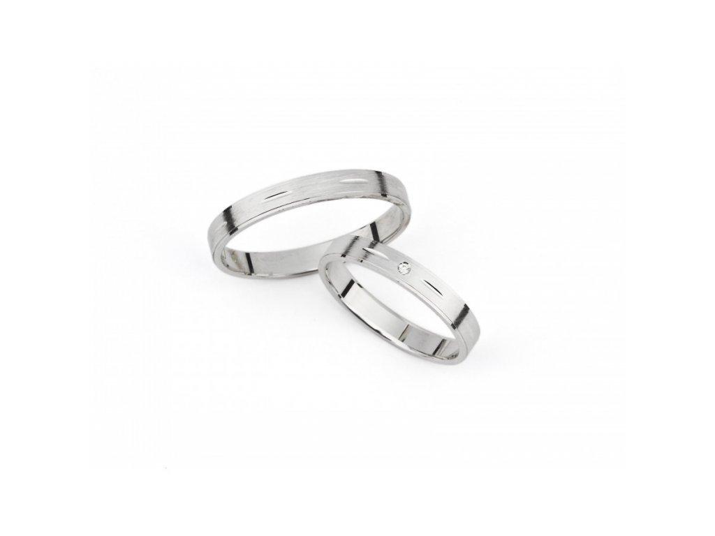 Snubní prsteny PM313