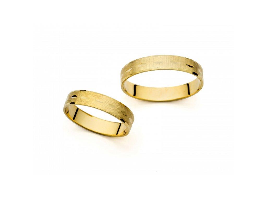 Snubní prsteny PM401