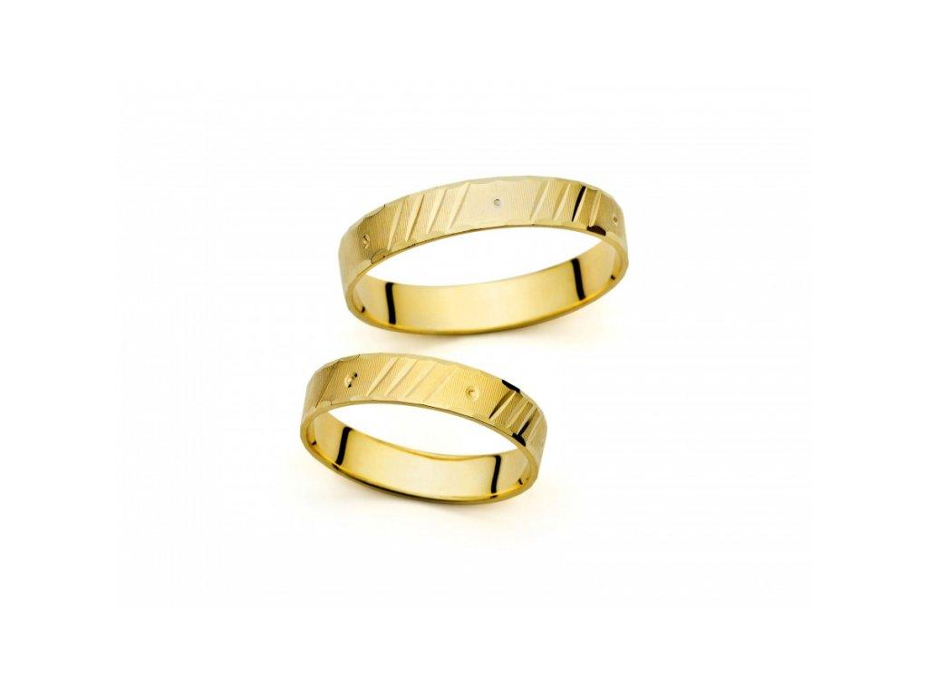 Snubní prsteny PM403