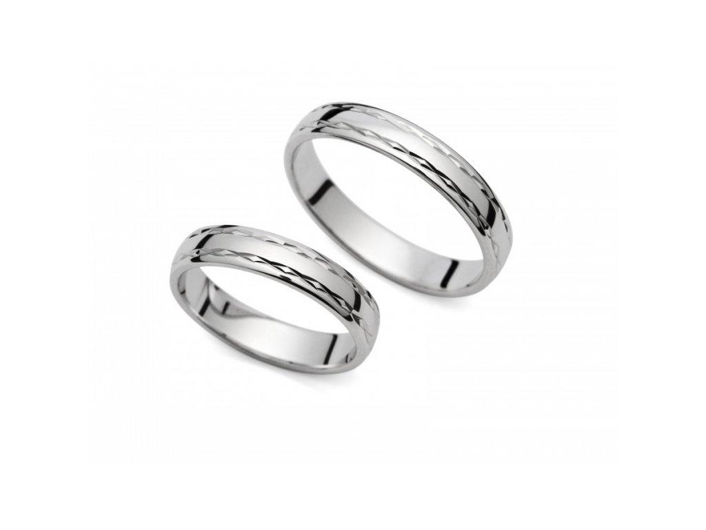 Snubní prsteny PM4057