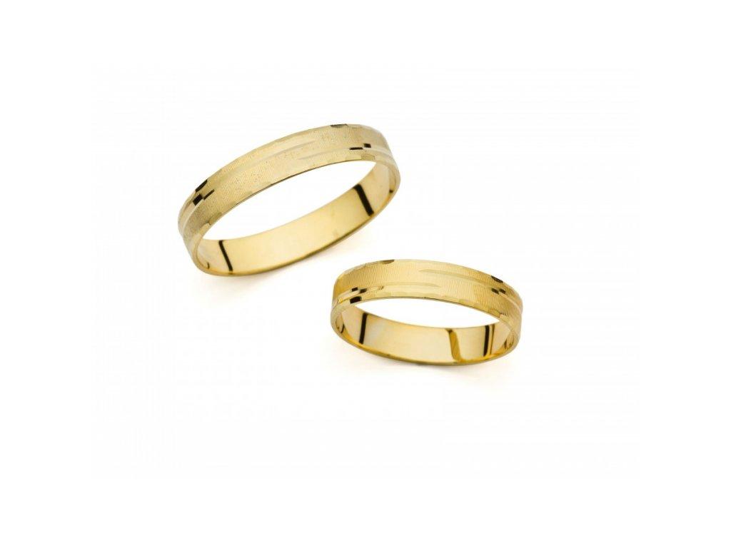 Snubní prsteny PM411