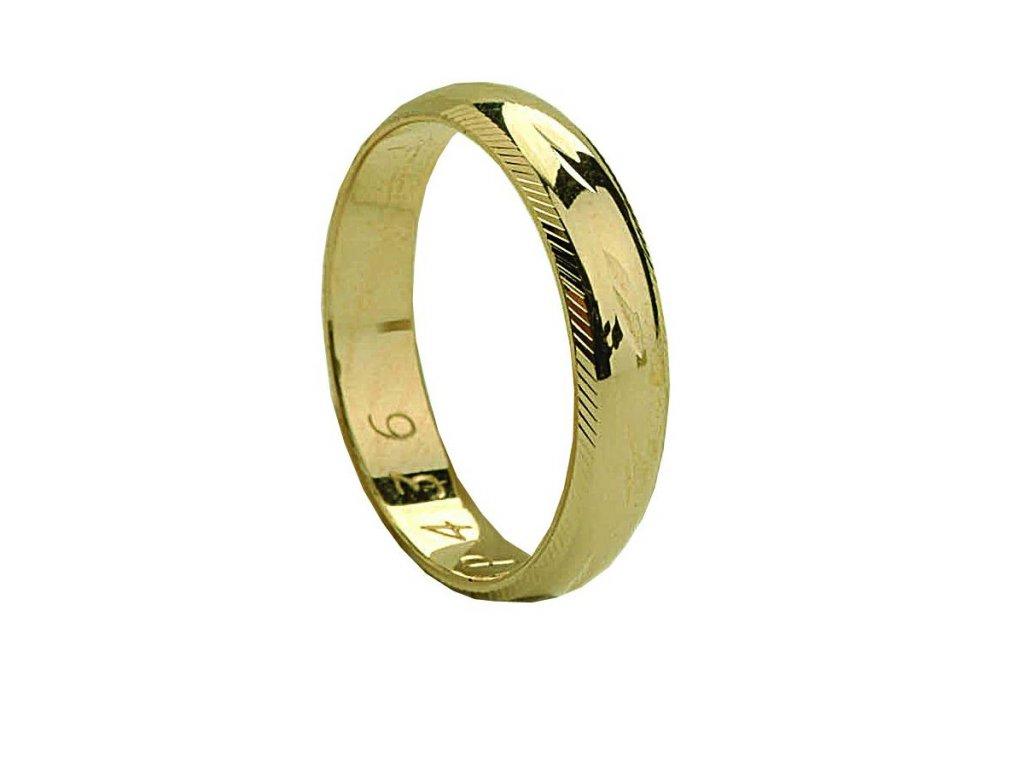 Snubní prsteny PM436