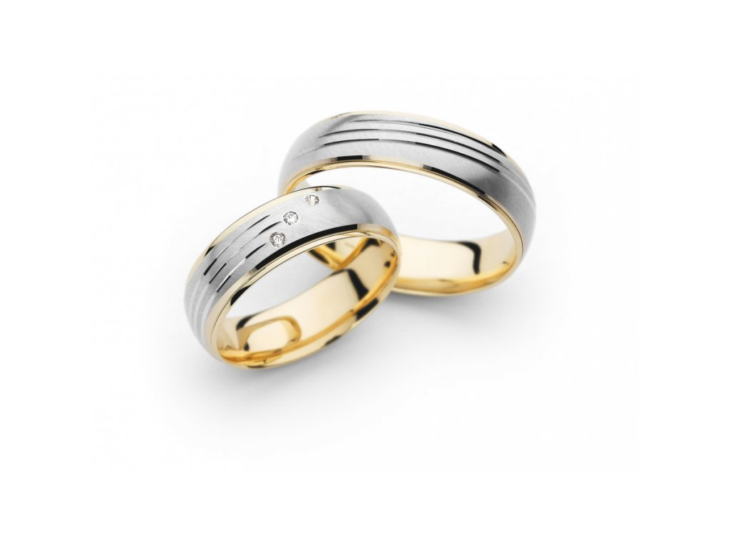 Snubní prsteny PM6071