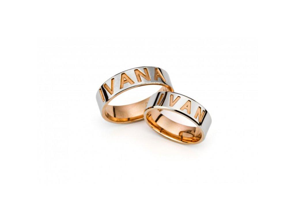 Snubní prsteny PM6146