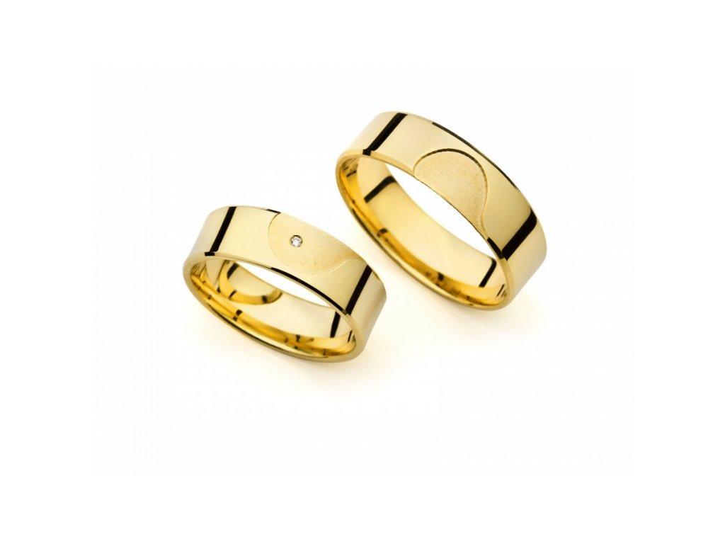 Snubní prsteny PM6255
