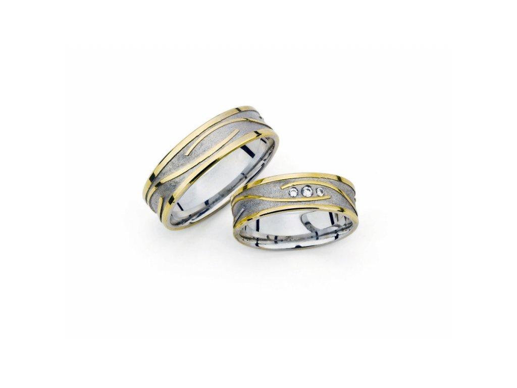 Snubní prsteny PM6284