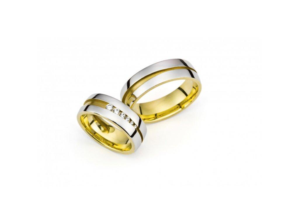 Snubní prsteny PM7065