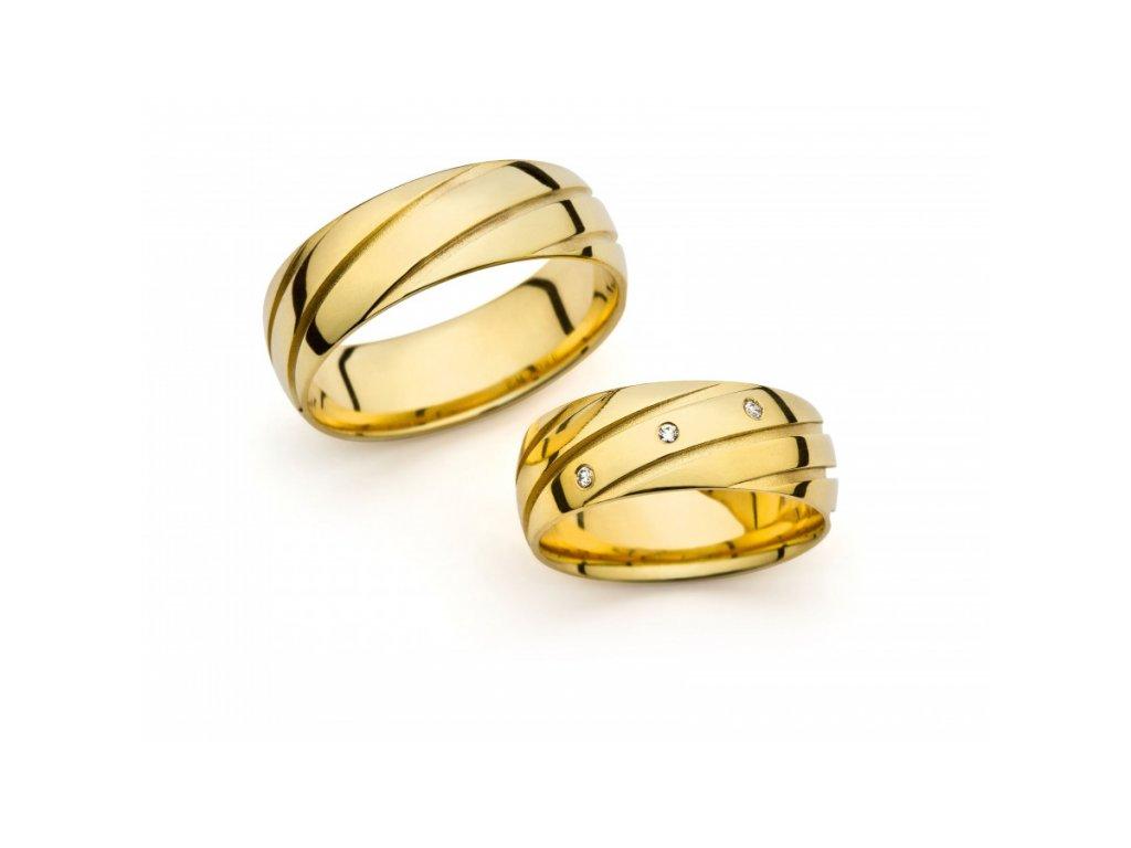 Snubní prsteny PM7069