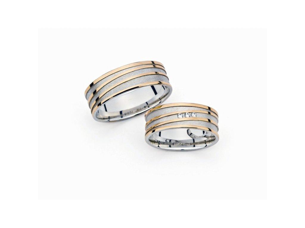 Snubní prsteny PM7086