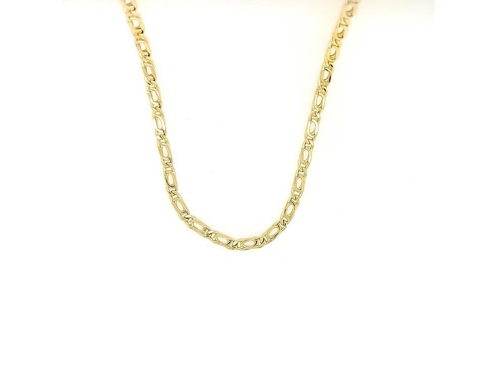 Unisex řetízek ze žlutého zlata 585/1000