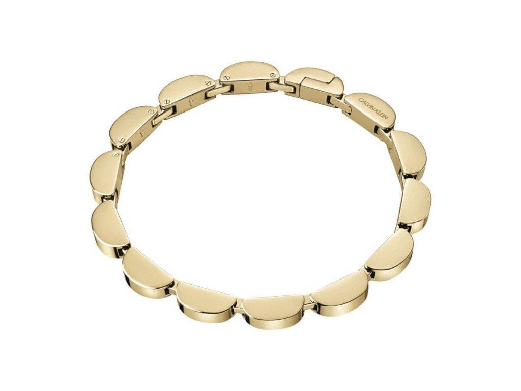 Pozlacený náramek Calvin Klein KJAYJB100200 z chirurgické oceli