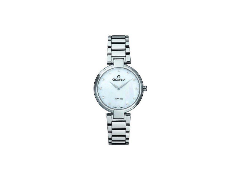 Dámské hodinky Grovana 4556.1138 s ocelovým řemínkem