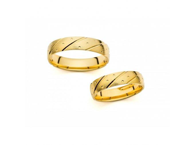 Snubní prsteny PM1001