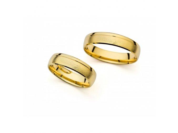 Snubní prsteny PM1043