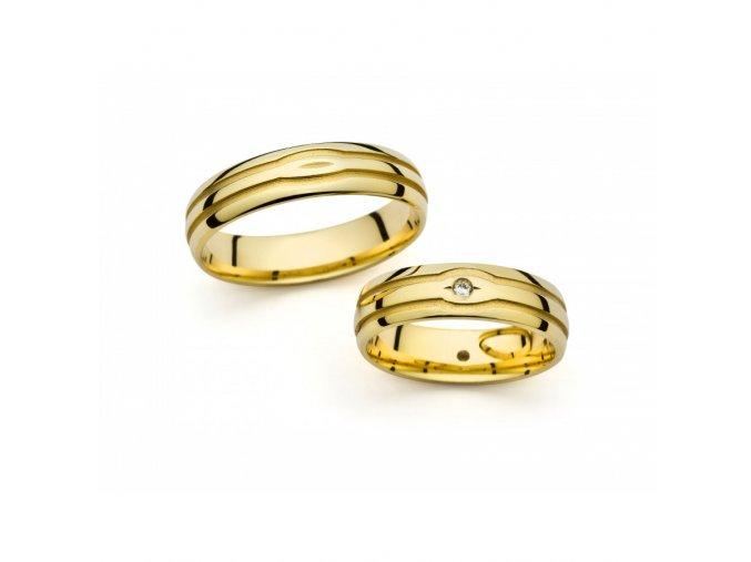 Snubní prsteny PM1056