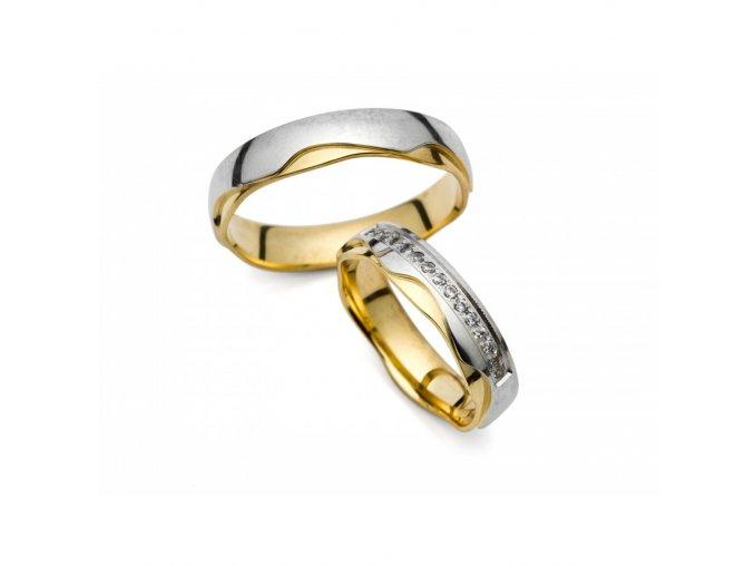 Snubní prsteny PM1350