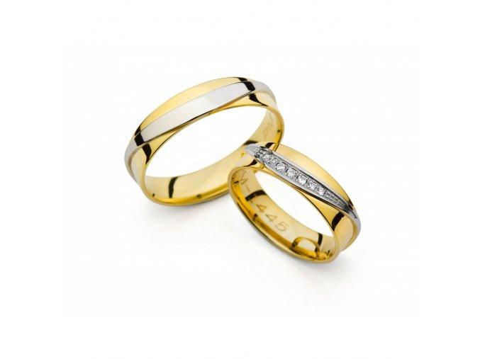 Snubní prsteny PM1445