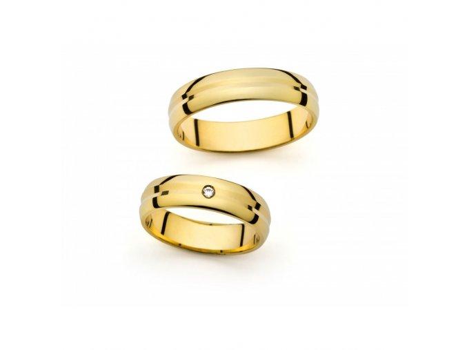 Snubní prsteny PM166