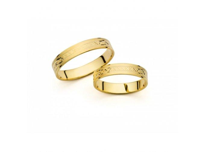 Snubní prsteny PM409