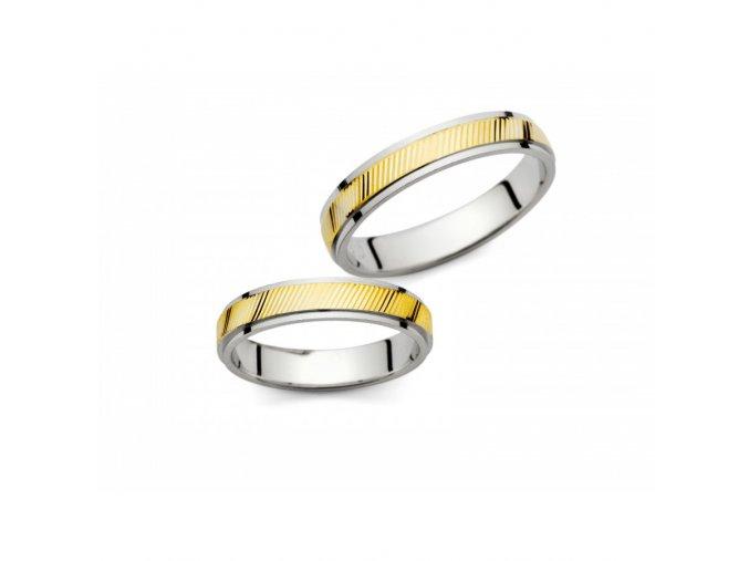 Snubní prsteny PM415