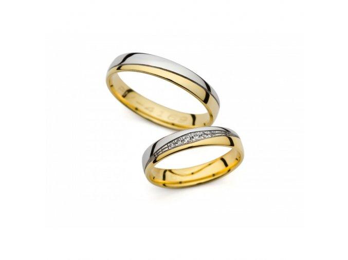 Snubní prsteny PM4169