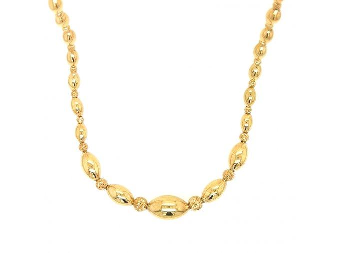 Dámský náhrdelník ze žlutého zlata 585/1000