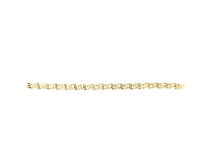 Dámský náramek ze žlutého zlata 585/1000