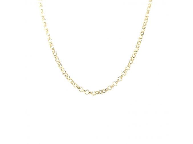 Dámský řetízek ze žlutého zlata 585/1000