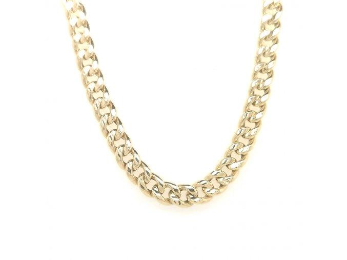 Pánský řetízek ze žlutého zlata 585/1000