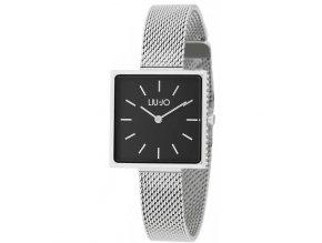 Hranaté dámské hodinky LIU JO TLJ1555 s ocelovým řemínkem