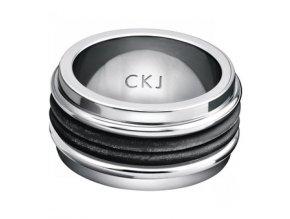 Pánský prsten Calvin Klein KJ98BR090110 z chirurgické oceli