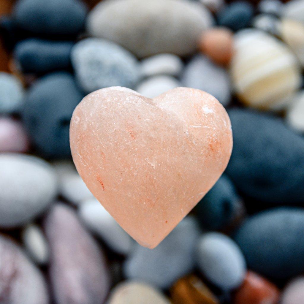 solný kámen na očistu korálků
