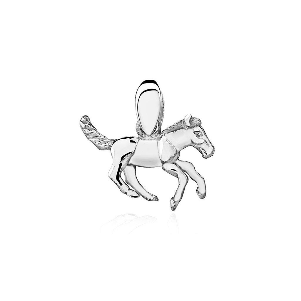 přívěsek stříbrný koník