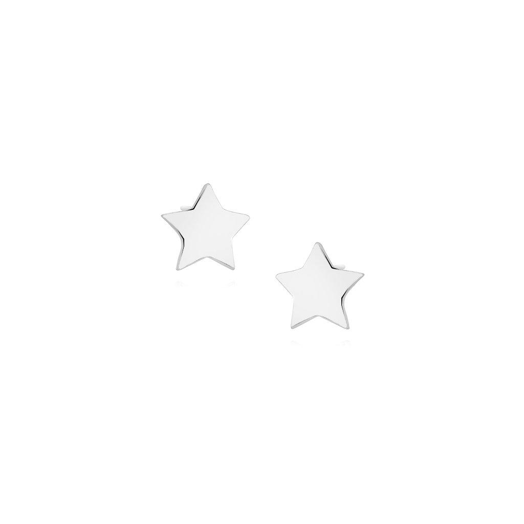 náušnice hvězda na puzetu