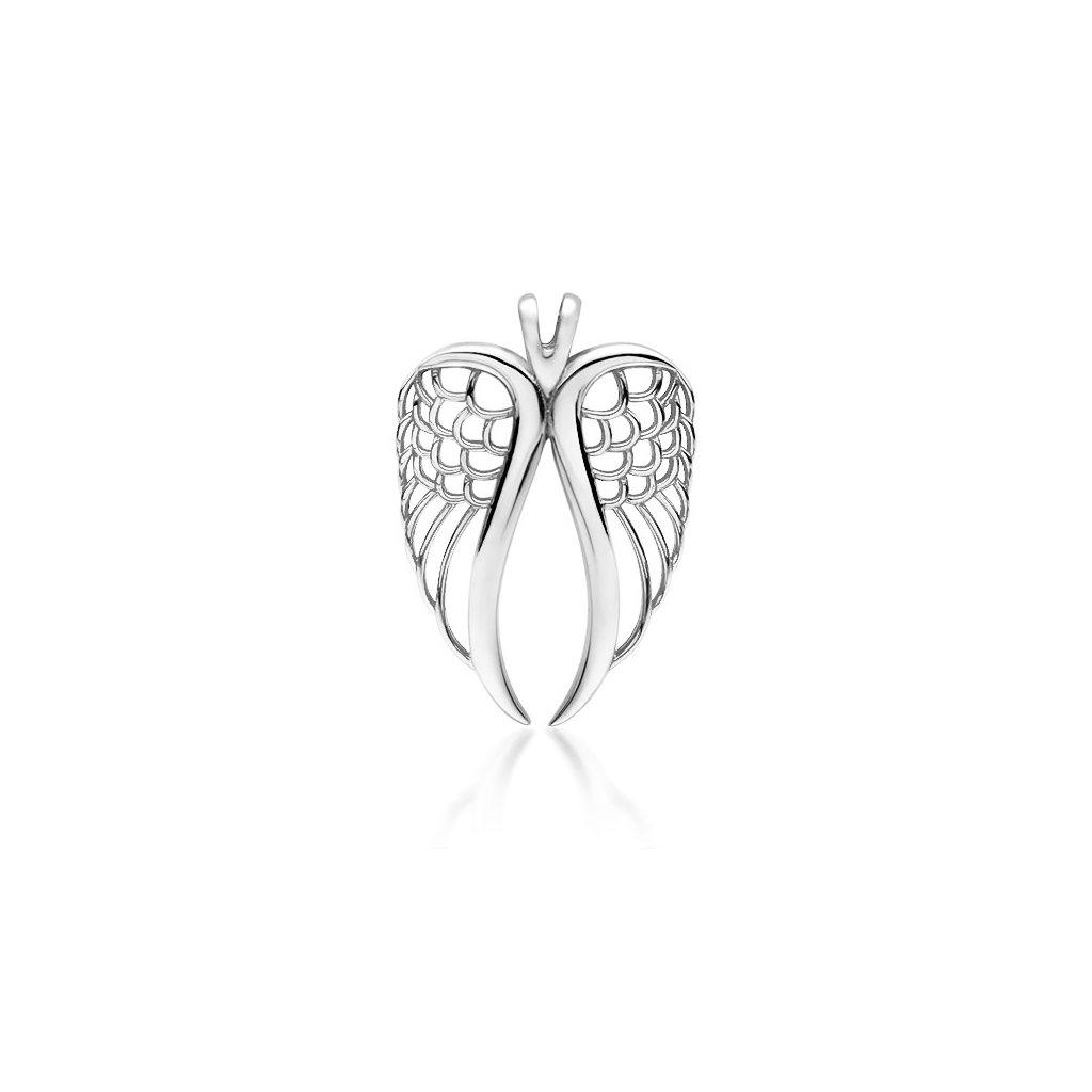 Luxusní andělská křídla - přivěsek