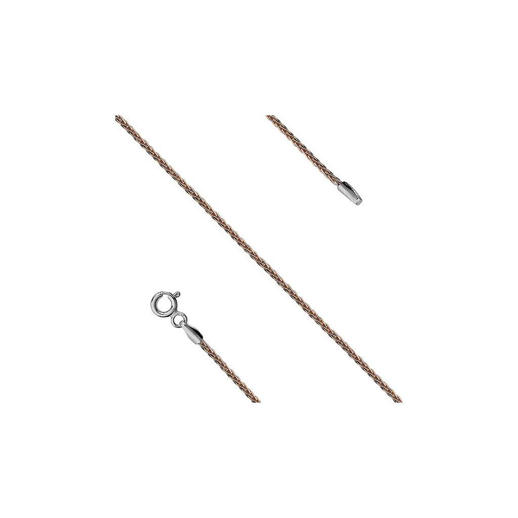 Pozlacený řetízek - 45 cm