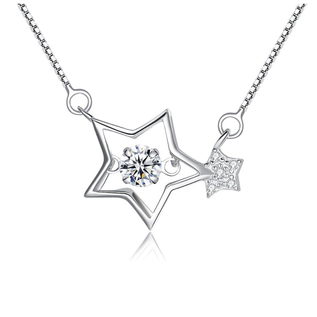 Luxusní náhrdelník zářívé hvězdy
