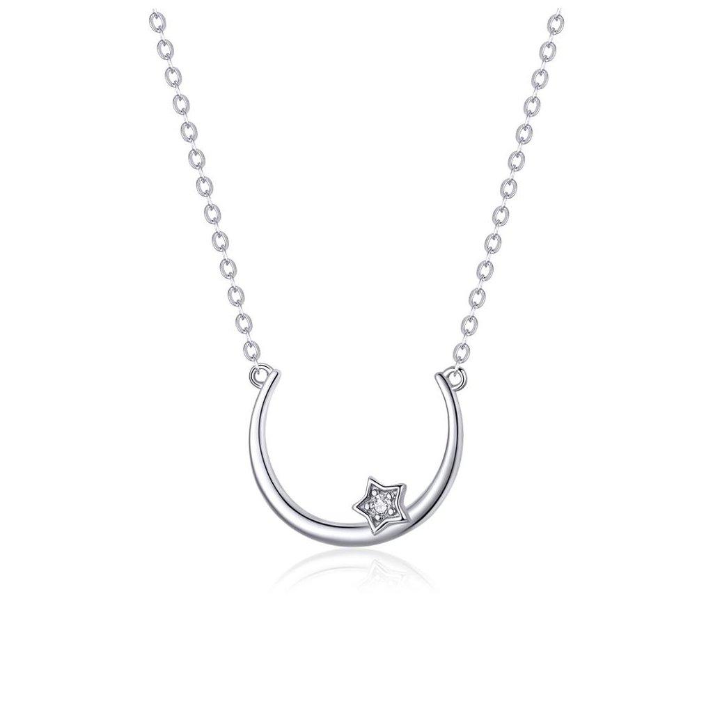 náhrdelník půlměsíc