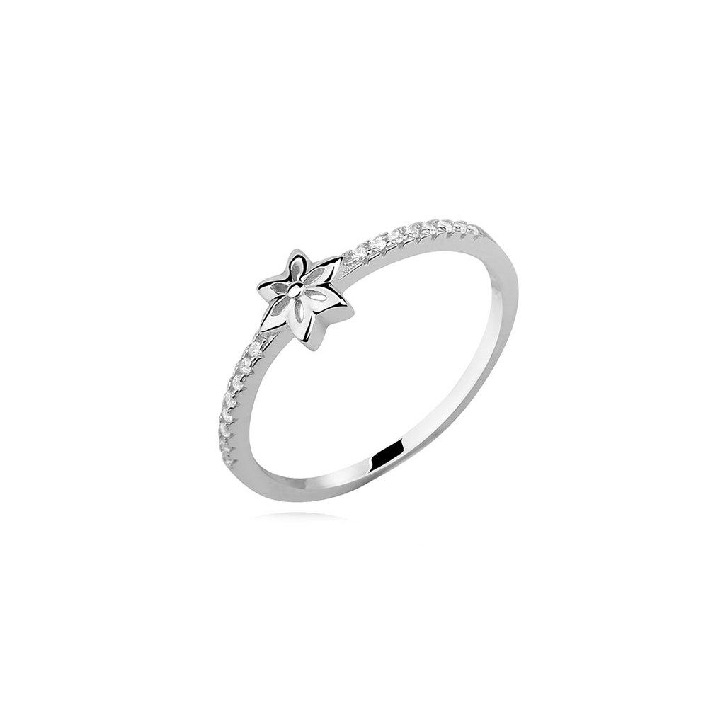 Stříbrný prsten Hvězda
