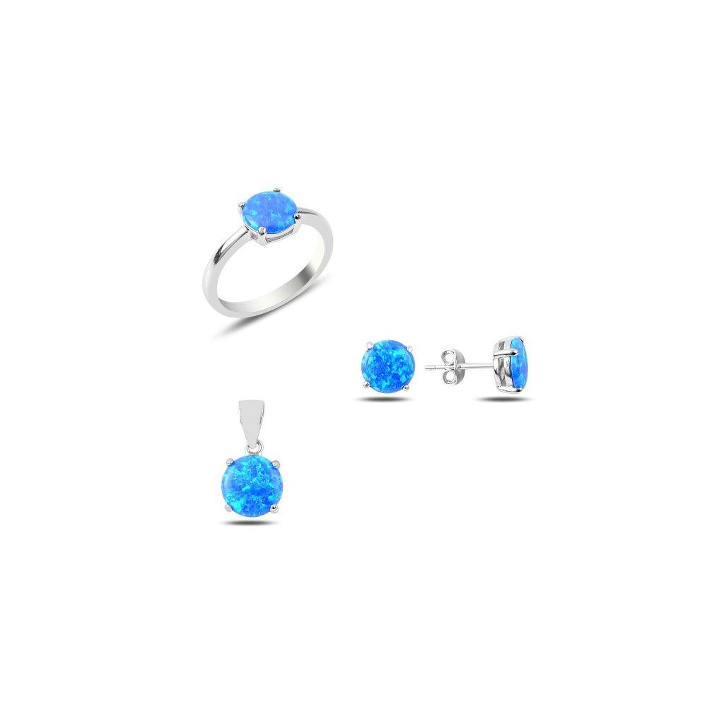 sada šperků s opálem