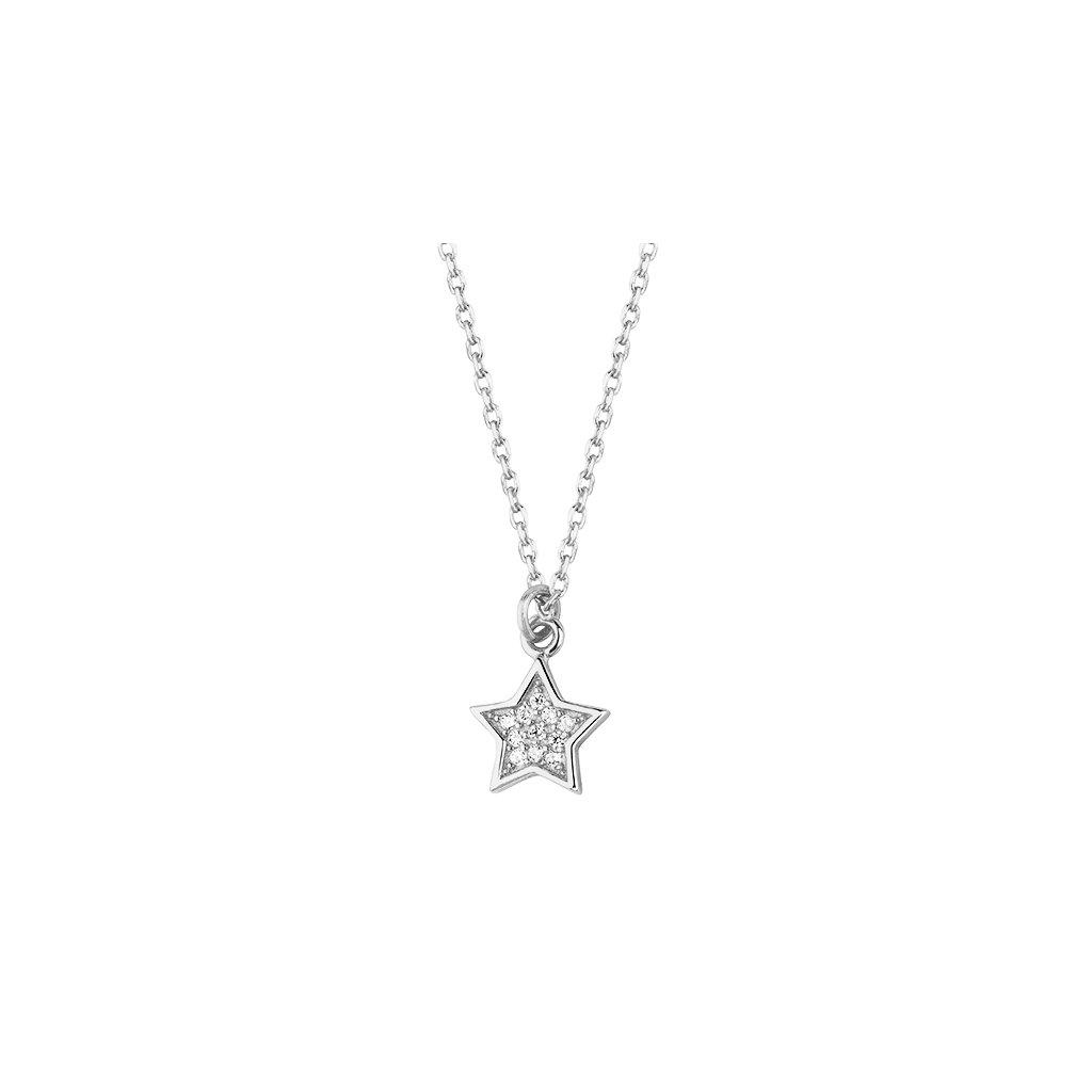 náhrdelník stříbrná hvězdička