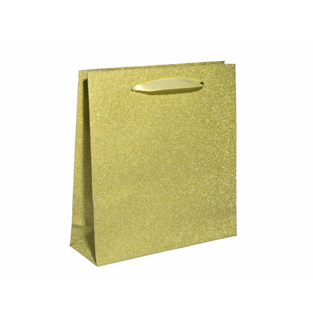 zlatá dárková taštička