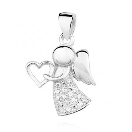 stříbrný anděl